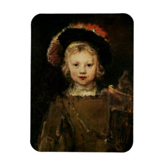 Young Boy in Fancy Dress, c.1660 (oil on canvas) Rectangular Photo Magnet