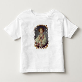 Young Boy with a Basket of Flowers Toddler T-shirt