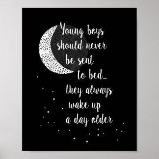 Young Boys debe nunca ser enviado… Cita de Peter Póster
