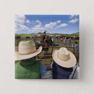 Young boys take in the 2007 Hughes Ranch Button