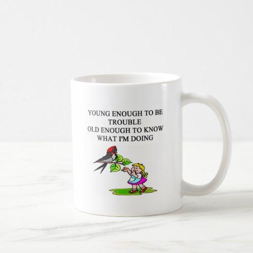 young brat son and daughter designs mug