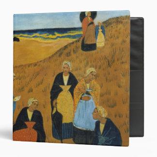 Young Breton Women wearing Shawls Binder