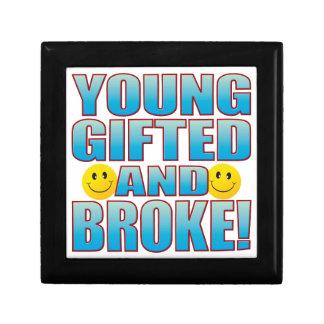 Young Broke Life B Jewelry Box