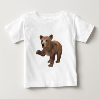 Young Brown Bear Baby T-Shirt