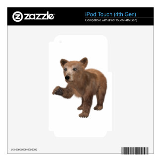 Young Brown Bear Skin For iPod Touch 4G