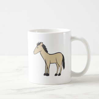 Young Brown Horse Classic White Coffee Mug