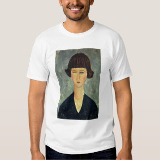 Young Brunette, 1917 (oil on canvas) T-shirt