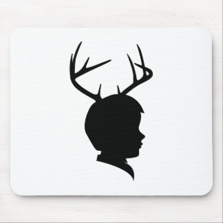 Young Buck Mouse Pads