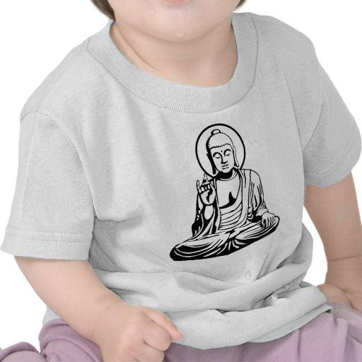 Young Buda No.1 (black) Camiseta