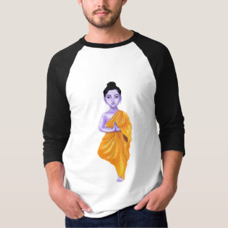 YOUNG BUDDHA IN A VRUKSHASANA(TREE) YOGA POSE T-Shirt