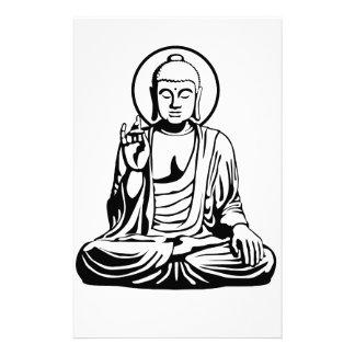 Young Buddha No.1 (black white) Stationery