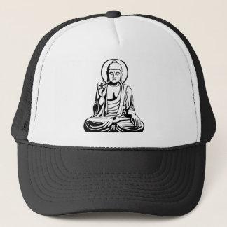 Young Buddha No.1 (black white) Trucker Hat