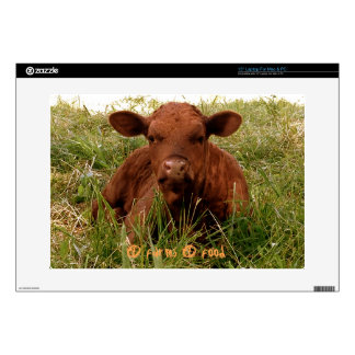 Young calf 4 farms 4 food skin for laptop