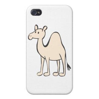 Young Camel Cartoon iPhone 4/4S Case