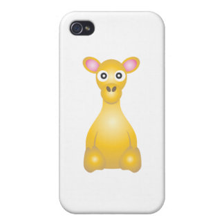 Young Camel Cartoon iPhone 4 Cases