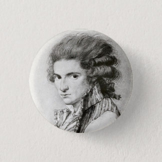 Young Camille Desmoulins Pinback Button