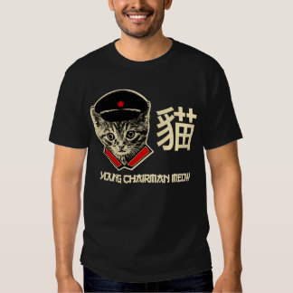 Young Chairman Meow - the Kitty Years T Shirt