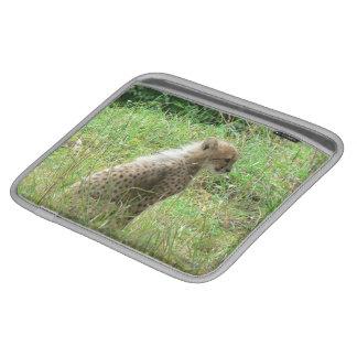 young cheetah iPad sleeve