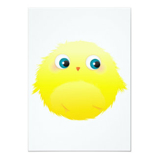 Young Chick Furry Monter Card