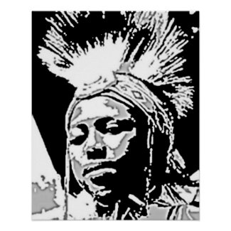 'Young Chief' zazzle_print