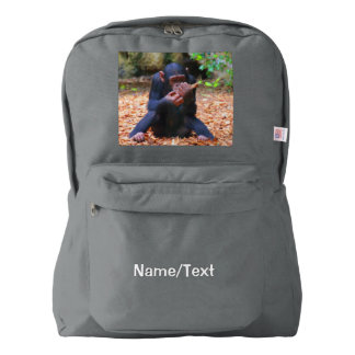 young chimpanzee 03 backpack