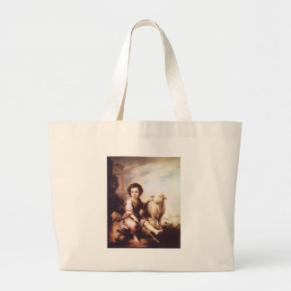 Young Christ as the good shepherd circa 1660 Tote Bags