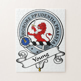 Young Clan Badge Jigsaw Puzzle