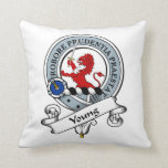 Young Clan Badge Pillow
