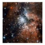 Young Cluster NGC3603 Poster
