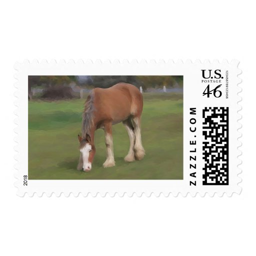 young Clydesdale Stamps