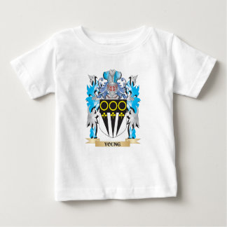Young Coat of Arms - Family Crest Tshirts