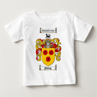 Young Coat of Arms / Young Family Crest Baby T-Shirt