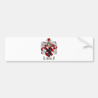 Young Coat of Arms Young Family Crest Bumper Sticker