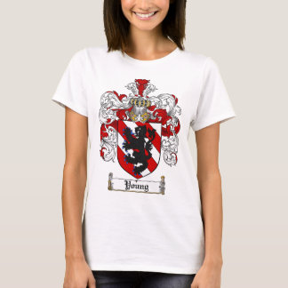 Young Coat of Arms Young Family Crest T-Shirt