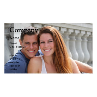 Young Couple Bridge Business Card