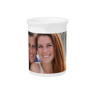 Young Couple Bridge Beverage Pitcher