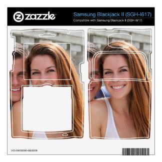 Young Couple Bridge Samsung Blackjack II Skin
