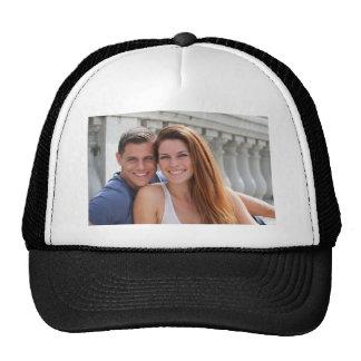 Young Couple Bridge Trucker Hat