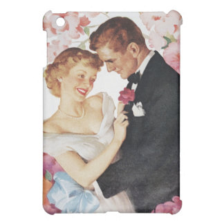 Young couple in formal wear iPad mini cover
