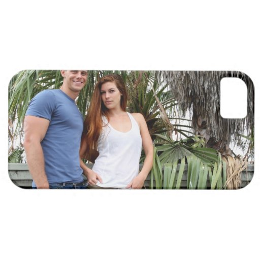 Young Couple Palm Tree iPhone 5 Case