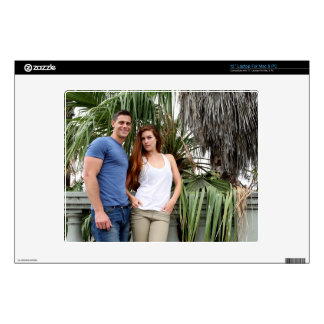 """Young Couple Palm Tree Decal For 12"""" Laptop"""