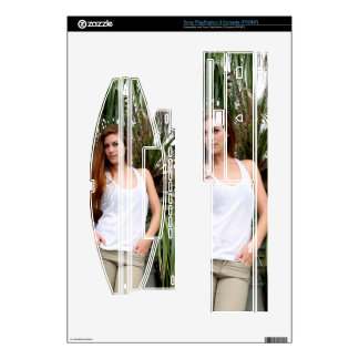 Young Couple Palm Tree Skin For PS3