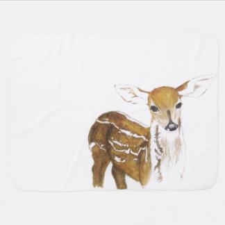 Young deer - baby blanket