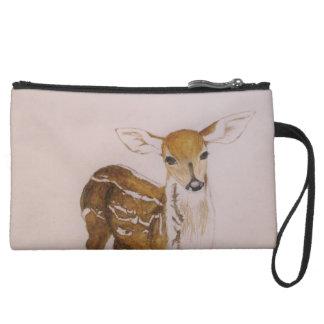 Young deer - wristlet
