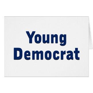 Young Democrat Greeting Card