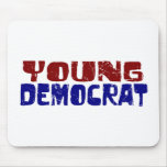 Young Democrat Mouse Mats