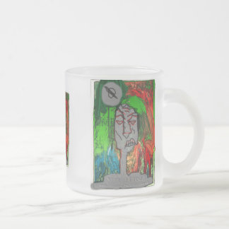 YOUNG DREAD GRAFF FROSTED GLASS COFFEE MUG