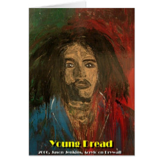 young dread greeting card