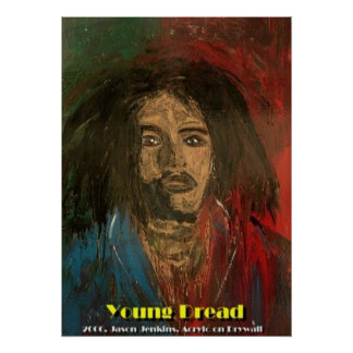 YOUNG DREAD POSTER