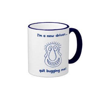 Young Driver Bug Off Ringer Mug